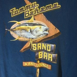 Tommy Bahama Relax Blue t-shirt Sand Bar size L
